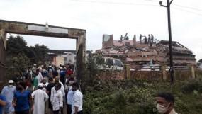 हादसा: महाराष्ट्र के रायगढ़ में 5-मंजिला इमारत ढही, 200 से ज्यादा लोगों के फंसे होने की आशंका