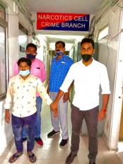 दिल्ली में एक शख्स 75 लाख रुपये की हेरोइन के साथ गिरफ्तार