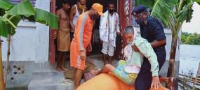 बिहार : एनडीआरएफ ने बाढ़ में फंसे 11 हजार से ज्यादा लोगों को सुरक्षित बचाया