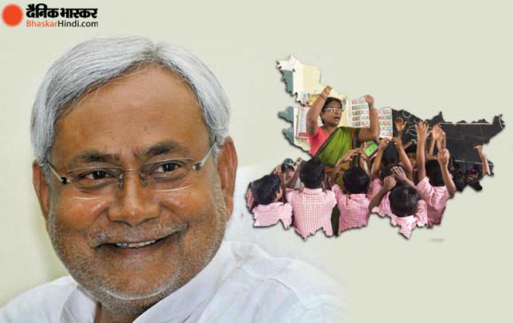 बिहार: विधानसभा चुनाव से पहले शिक्षकों को नीतीश सरकार का तोहफा, 22 फीसदी सैलरी बढ़ाई