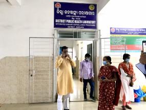 ओडिशा के भाजपा सांसद कोविड-19 से संक्रमित