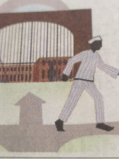 केन्द्रीय जेल में विचाराधीन बंदी से मांगी 5 हजार की रिश्वत - जेल प्रहरी पर आरोप