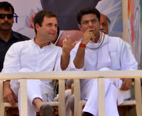 कांग्रेस नेताओं ने दिया राहुल-पायलट मुलाकात का संकेत