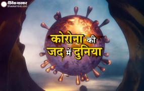 Coronavirus in World: दुनिया में कोरोना संक्रमितों की संख्या 2 करोड़ के करीब, अमरीका में संक्रमण के लगभग 50 लाख मामले