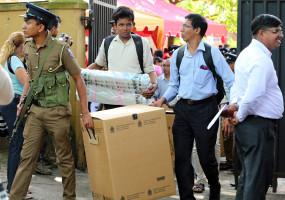 श्रीलंका आम चुनाव में वोटों की गिनती जारी