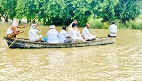 उप्र में बाढ़ से फसलें चौपट, मुआवजा दे सरकार : कांग्रेस