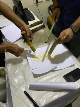 मुंबई में कस्टम, डीआरआई ने हेरोइन जब्त की