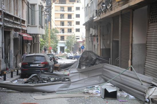 बेरुत विस्फोट में मरने वालों की संख्या 135 हुई, आपात स्थिति घोषित