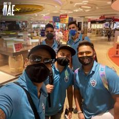 आईपीएल के लिए दिल्ली कैपिटल्स के खिलाड़ी यूएई पहुंचे (लीड-1)