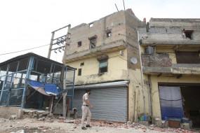 दिल्ली : बनती इमारत का फर्श ढहने से पुलिस एएसआई की मौत