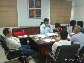 जयपुर: संभागीय आयुक्त ने की स्वतंत्रता दिवस समारोह की तैयारियाें की समीक्षा