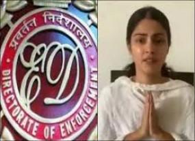 सुशांत सिंह मौत मामले में रिया चक्रवर्ती को ईडी का नोटिस