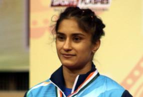 महिला पहलवान विनेश फोगाट कोरोना पॉजिटिव