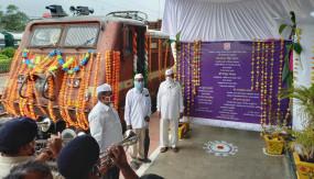 महाराष्ट्र से गोभी, शिमला मिर्च, अनार लेकर बिहार रवाना हुई पहली किसान रेल