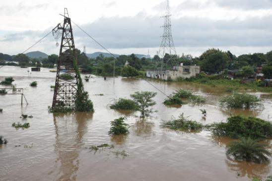विदर्भ के कई जिलों में बाढ़ जैसे हालात, गोंदिया में 150 लोगों का रेस्क्यू