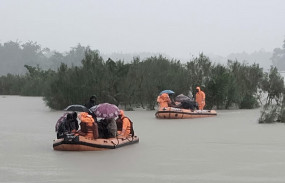 असम में घट रहा बाढ़ का पानी, अब भी 11 लाख लोग प्रभावित