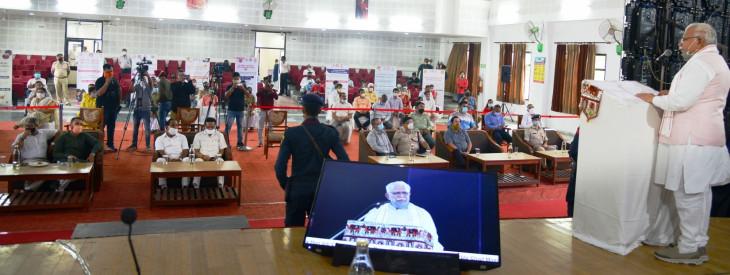 हरियाणा के मुख्यमंत्री ने रक्षा बंधन पर 11 कॉलेज खोलने की घोषणा की