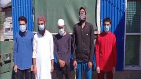 कश्मीर में आईएसआईएस के मॉड्यूल का भंडाफोड़, 5 गिरफ्तार