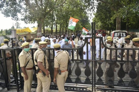 यूपी पुलिस की हिरासत में महाराष्ट्र के मंत्री नितिन राउत