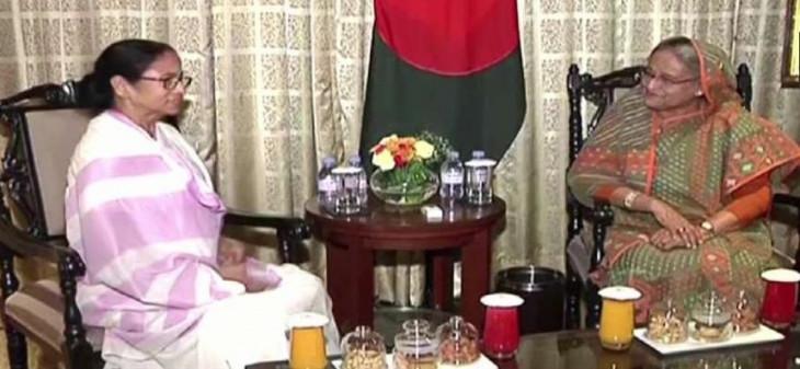 ममता बनर्जी ने बांग्लादेश की प्रधानमंत्री को ईद की मुबारकबाद दी