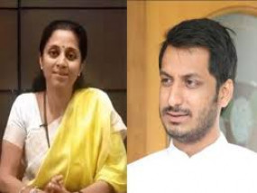 पार्थ पवार के जय श्री राम से सहमत नहीं एनसीपी, सुप्रिया ने बतायीनिजी राय