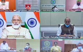 कोरोना पर मंथन: पीएम ने 10 राज्यों के मुख्यमंत्रियों के साथ की बैठक, टेस्टिंग बढ़ाने की अपील