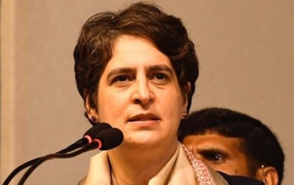 यूपी में अपराध: प्रियंका गांधी ने काूनन व्यवस्था को लेकर योगी सरकार पर साधा निशाना
