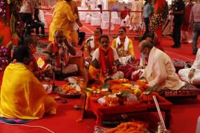 राममंदिर भूमिपूजन को लेकर चारों ओर रामनाम की गूंज