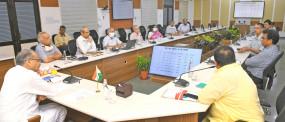 जयपुर: कोरोना संक्रमण की स्थिति की समीक्षा खाद्य सुरक्षा के तहत नवम्बर तक मिले मुफ्त अनाज - मुख्यमंत्री अशोक गहलोत