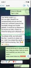 रिया ने सुशांत के साथ चैट के स्क्रीनशॉट को शेयर किया