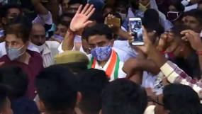 Rajasthan Politics: करीब एक महीने बाद जयपुर लौटे पायलट, कहा- पार्टी से मेरी कोई मांग नहीं, जो कहेगी वो करूंगा