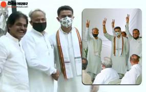 Rajasthan Politics: विधायक दल की बैठक खत्म, गहलोत बोले- हम 19 MLA के बिना बहुमत साबित कर देते, लेकिन खुशी नहीं मिलती