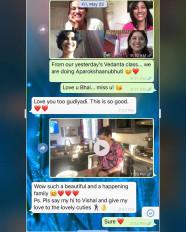 सुशांत की बहन ने अभिनेता के साथ चैट की स्क्रीनशॉट साझा की