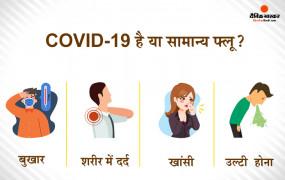 Health: COVID-19 है या सामान्य फ्लू, दोनों के लक्षण एक जैसे हैं, कैसे करें पहचान?