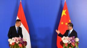 चीन और हंगरी के विदेश मंत्रियों के बीच हुई बातचीत
