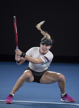 टेनिस : प्राग ओपन के दूसरे दौर में पहुंची बाउचार्ड