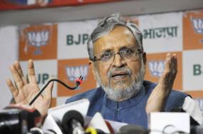 कांग्रेस संपोषित बालीवुड माफिया के दबाव में हैं उद्घव ठाकरे : सुशील मोदी
