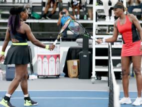 WTA top seed open 2020: सेरेना विलियम्स क्वार्टर फाइनल में पहुंची, दूसरे राउंड में बड़ी बहन वीनस को हराया