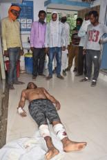 5 रुपए को लेकर युवक की पीट-पीट कर हत्या - नौगांव थाना क्षेत्र के झींझन गांव की घटना, तीन आरोपी गिरफ्तार