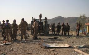 अफगानिस्तान में 25 आतंकवादी ढेर