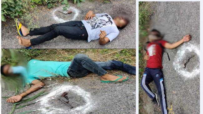 अलीगढ़ में ज्वेलरी शॉप लूटकर भागे 3 बदमाश नोएडा में पकड़े गए