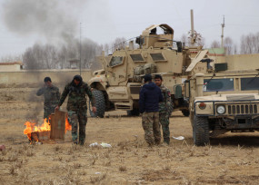 तालिबान ने घात लगाकर मारे 9 अफगानी सुरक्षाकर्मी