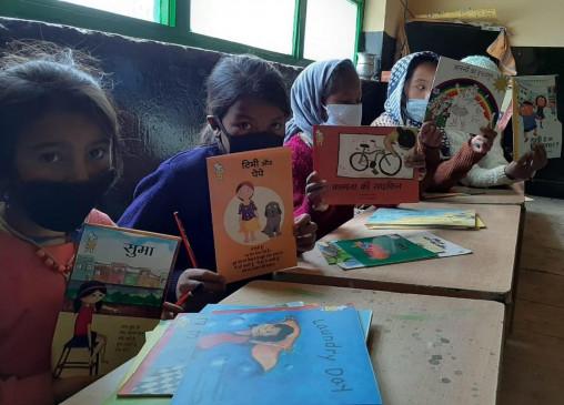 महामारी के बीच किताबों ने स्पीति के बच्चों को नई दुनिया से परिचित कराया