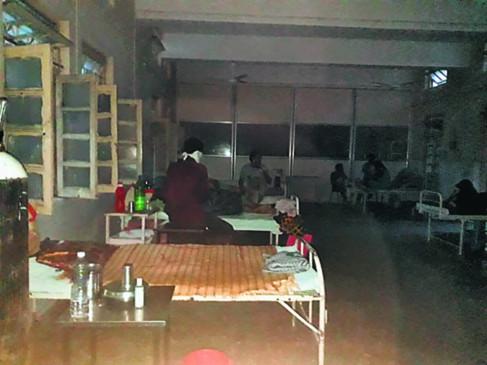 मेयो में 'अंधेर ' : 4 घंटे अंधेरे में रहे 7 वार्ड के मरीज