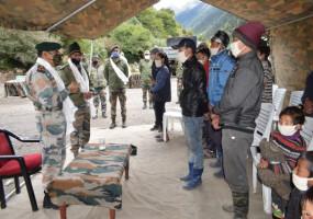 चीन के सीमावर्ती अरुणाचल के गांव में सेना ने दी फोन कनेक्टिविटी