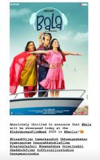 बाला के इंडो-जर्मन फिल्म वीक में दिखाए जाने से आयुष्मान खुश