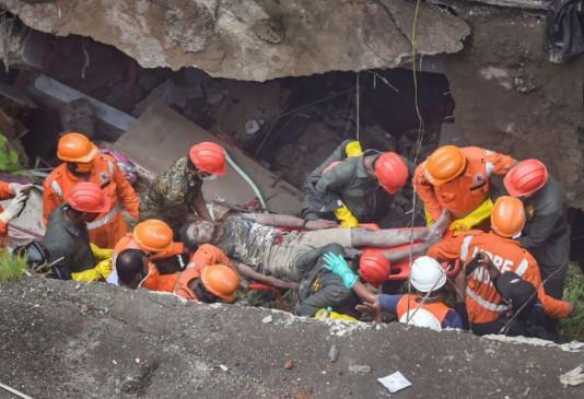 Bhiwandi Building Collapse: भिवंडी इमारत ढहने से मरने वालों की संख्या 22 पहुंची, बचाव कार्य जारी