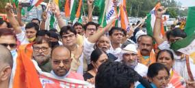 बिहार: कृषि बिल के विरोध में सड़क पर उतरे यूडीए के नेता