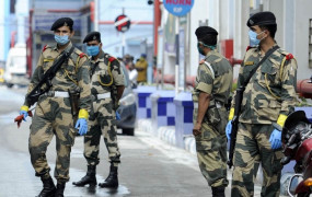 बीएसएफ ने जम्मू में पाक से हथियारों, मादक पदार्थो की तस्करी का प्रयास किया विफल
