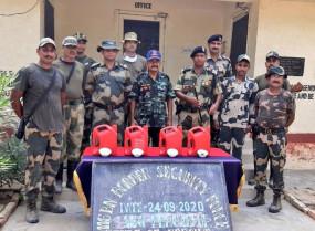 बीएसएफ ने पंजाब के फिरोजपुर में 13 किलो हेरोइन जब्त की
